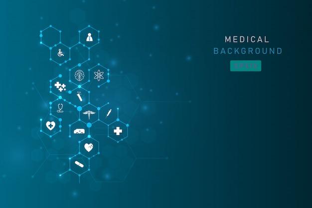 Tło innowacji medycznych opieki zdrowotnej