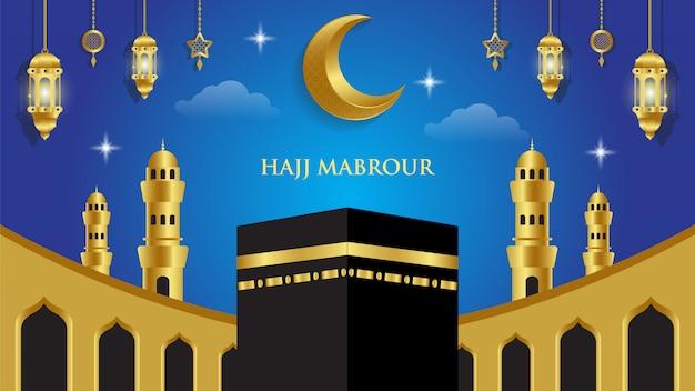 Tło islamskie hajj mabrour