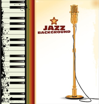 Tło jazzowe