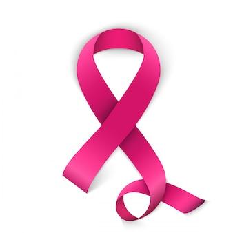 Tło kampanii świadomości raka piersi.