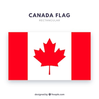 Tło kanadyjskiej flagi