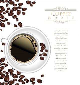 Tło kawiarni