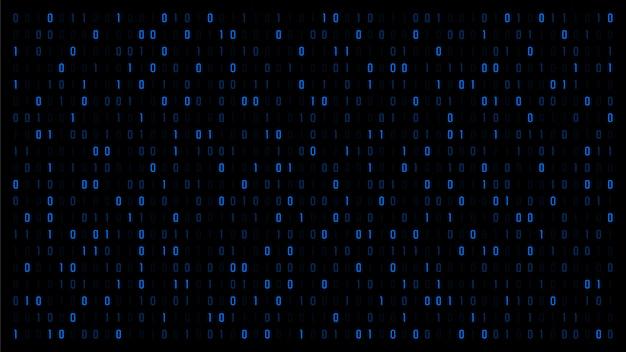 Tło kodu binarnej matrycy