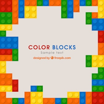 Tło kolorowe bloki w płaskim stylu