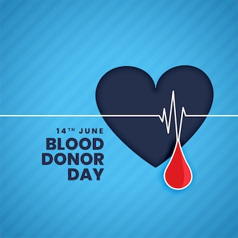 Tło koncepcja dzień dawcy krwi czerwca
