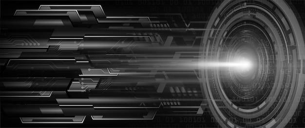 Tło koncepcja technologii przyszłości cyber obwodu