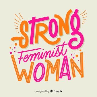 Tło koncepcji feminizmu