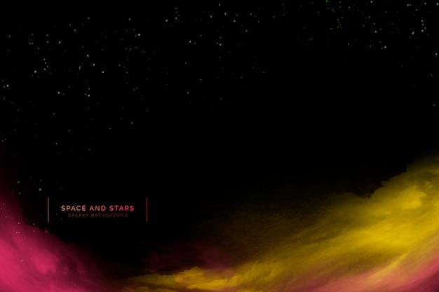 Tło kosmosu