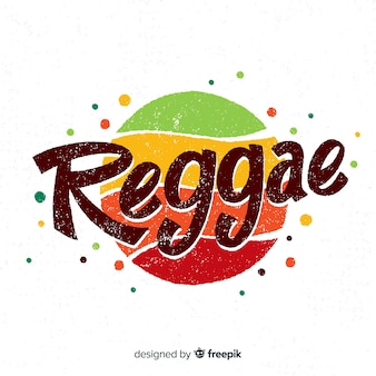 Tło kropki reggae