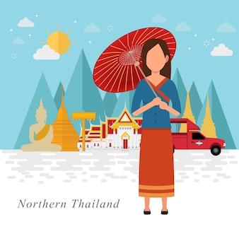 Tło kultury północnej tajlandii
