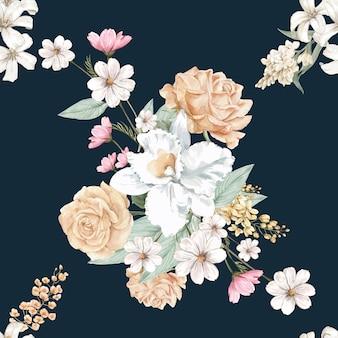 Tło kwiatowy
