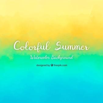Tło lato z wieloma kolorami