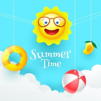 Tło lato.
