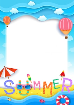 Tło lato