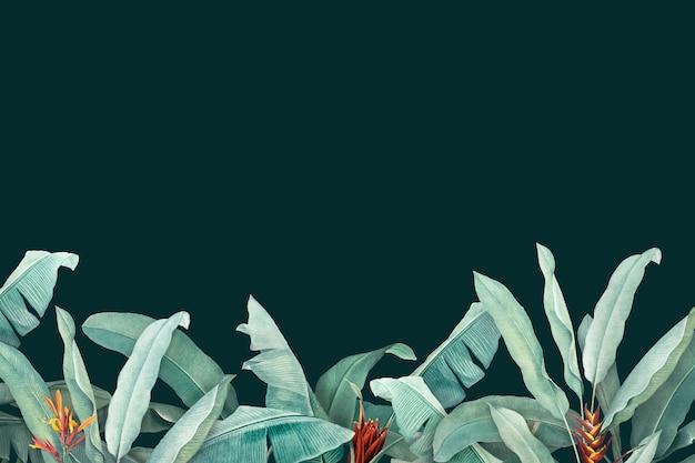 Tło liści