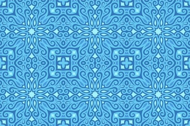 Tło lodowate z niebieskim wzorem