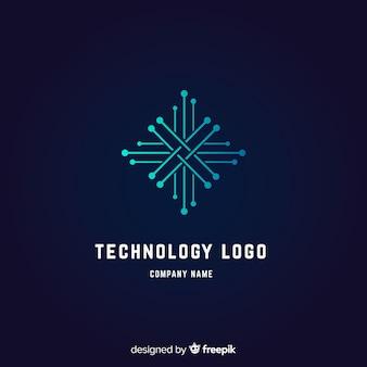 Tło logo technologii