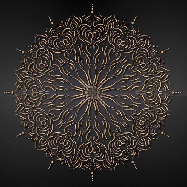 Tło mandali, ornament, tło