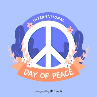 Tło międzynarodowego dnia pokoju