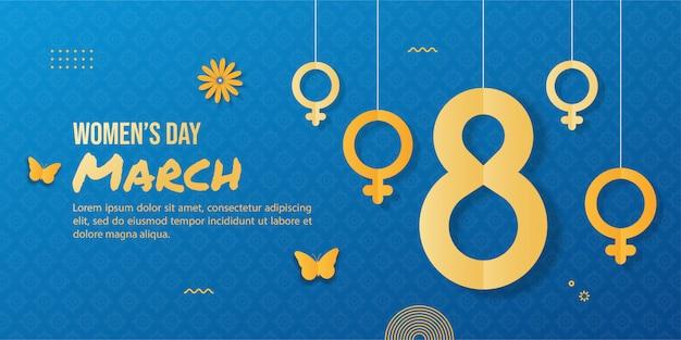 Tło międzynarodowy dzień kobiet