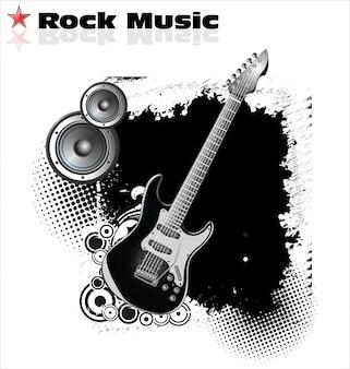Tło muzyczne rock