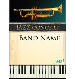 Tło muzyki jazzowej