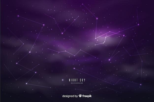 Tło nocne niebo