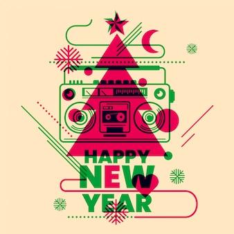 Tło nowego roku