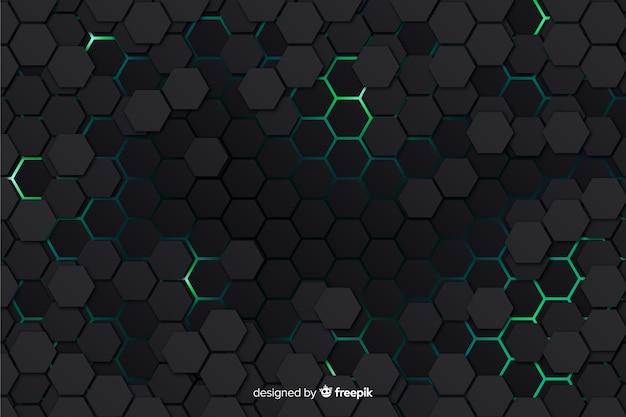Tło o strukturze plastra miodu nowoczesne