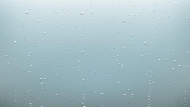 Tło pęcherzyki wody