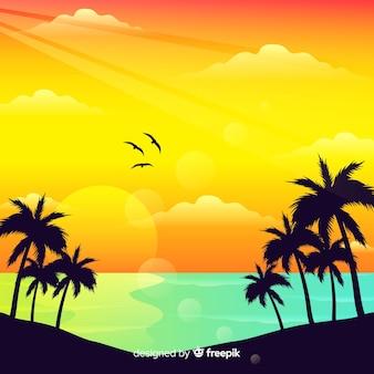 Tło plaża