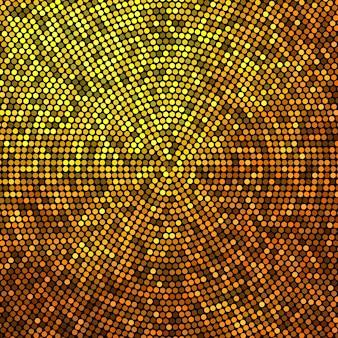 Tło półtonów złoty brokat. luksusowy design. ilustracja