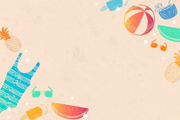 Tło pomarańczowe lato