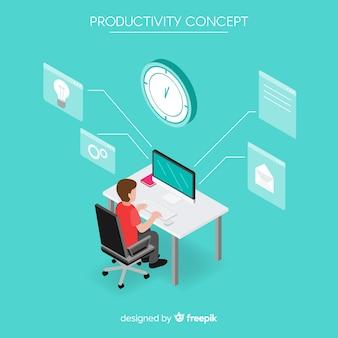 Tło produktywności