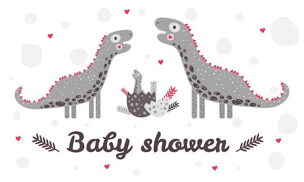 Tło prysznic baby
