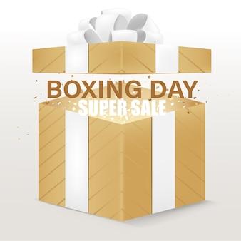 Tło pudełko na prezent na boże narodzenie