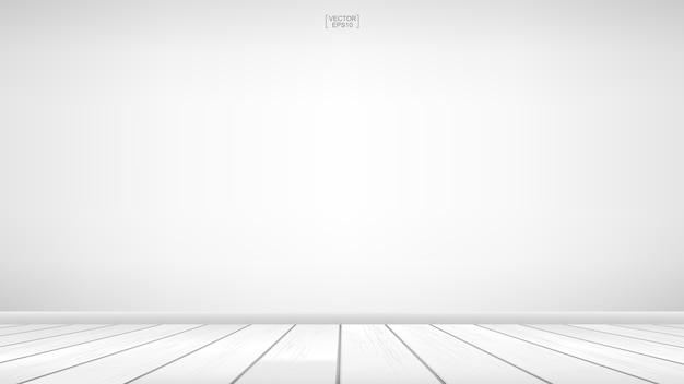 Tło pustego pokoju drewniane