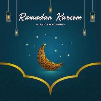 Tło ramadan kareem
