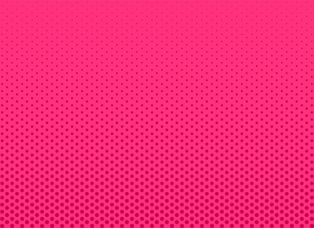 Tło rastra pop-artu. komiks różowy