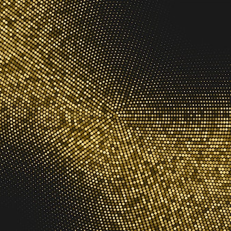 Tło rastra z brokatem złota