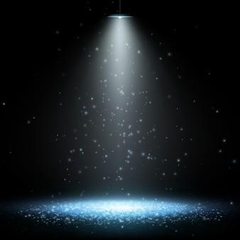 Tło reflektorów