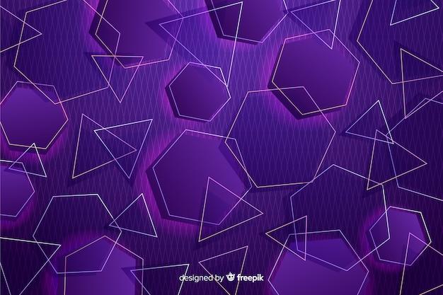 Tło retro modeli geometrycznych