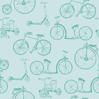 Tło rower dla dzieci