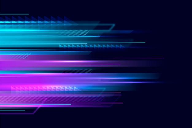 Tło ruchu gradientu prędkości