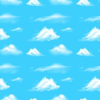 Tło sceny z błękitnego nieba