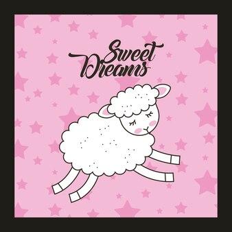 Tło słodkich snów