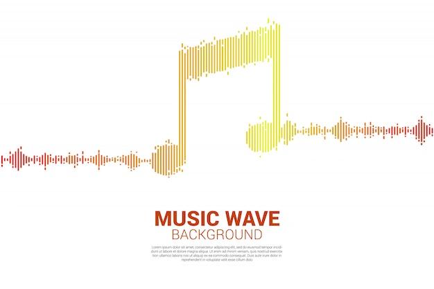 Tło sound music equalizer.