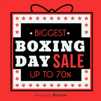 Tło sprzedaż dzień boxing