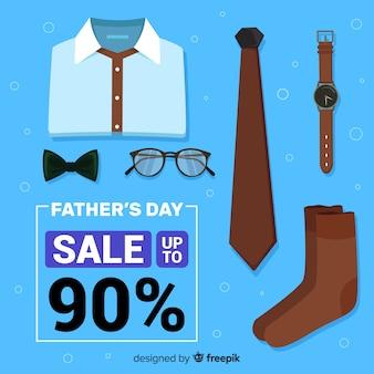 Tło sprzedaż dzień ojca