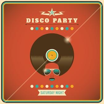 Tło strony disco